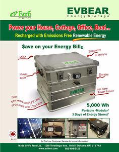 ELECTRICITY STORAGE SYSTEM / EVBEAR 5K