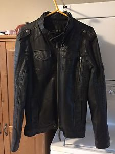 Faux Leather Jacket (worn once)