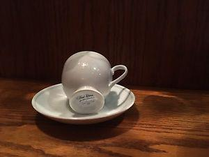 Fine china cup and saucer set