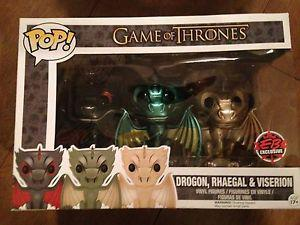 Game of Thrones Funko Pop 3 Pack EB Exclusive