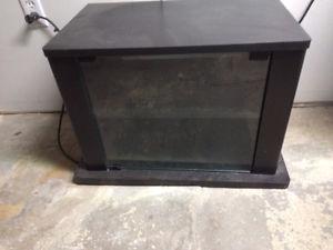Greatshape Black tv stand forsale