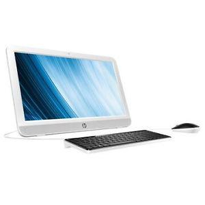 HP all-in-one white desktop computer 19""
