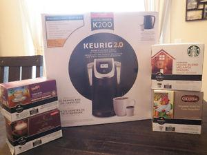 Keurig 2.0 - BRAND NEW IN BOX! (w/ bonus items)