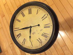 Large Antique Style Clock $60