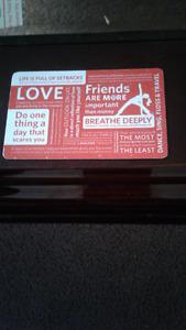 $ Lulu lemon gift card for $