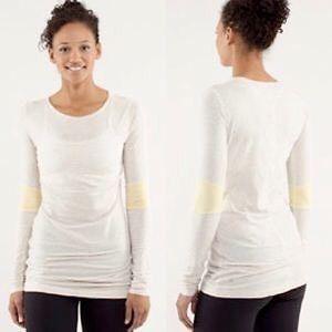Lululemon devotion LS shirt size 4