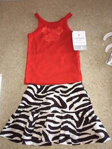 NWT Carter's 6 month girl outfit