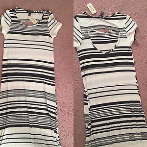 New long length dress size M