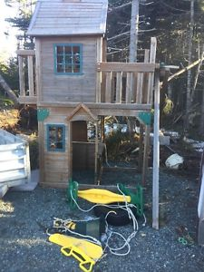 Playground Set - Tree house and Swings
