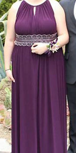 Plum Purple Prom Dress