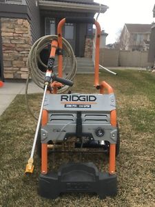 RIDGID GAS POWERED PRESSURE WASHER