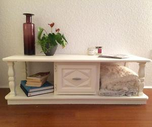 Refinished Solid Wood Coffee Table/TV Table