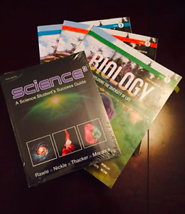 Russell Biology Volume 1-3 Including Brand New Science3