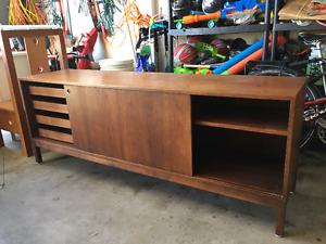 Table with Storage (Credenza)