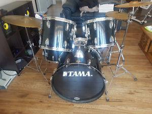Tama Drum Set (complete set with cymbals)