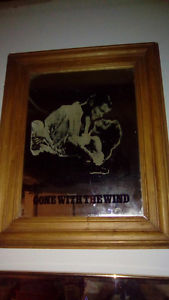 Vintage Gone with the Wind mirror