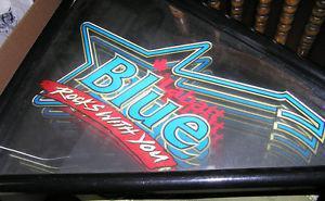 Vintage Labatt |Blue Rocks With You Neon Light Up Sign