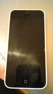White iPhone 5C (parts phone)