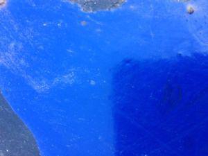 15 GALLONS OF BLUE RUSTOLEUM INDUSTRIAL ENAMEL PAINT