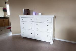 2 Year Old White Dresser - Excellent Condition