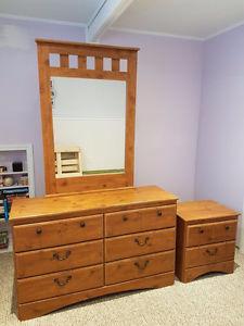 3-Piece Wooden Bedroom Set