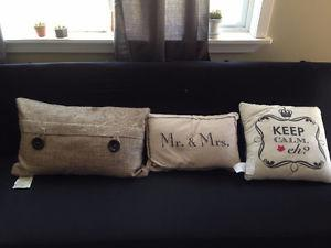 3 pillows for sale
