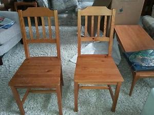 6 - Ikea kitchen chairs