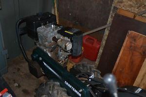 "9hp 21"" heavy duty rear tine tiller Craftsman"