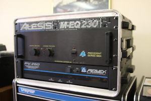 AB amp/Peavey amp/ Alesis equalizer