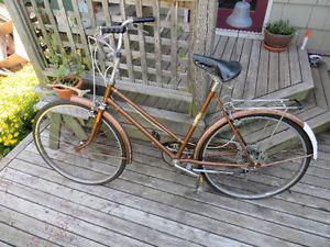 All original  CCM 5 speed bike