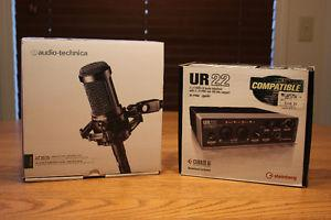 Audio-Technica AT USB Audio Interface Package
