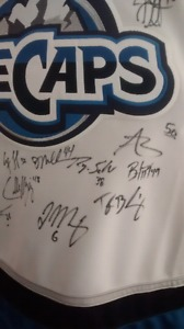 Autographed Ice Caps Jersey, make an offer!