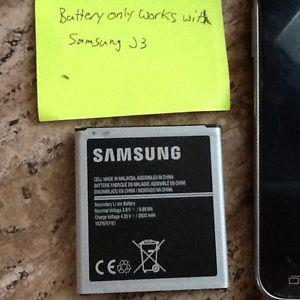 Battery for Samsung J3 Phone