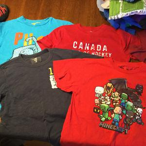 Boys T shirts and polo shirts Size