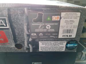 Brand new steel toe boots