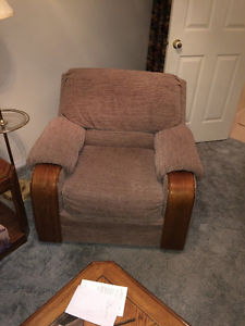 Brown Living Room Chair