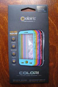 Cellairis Colori Colored Screen Protector Samsung Galaxy S