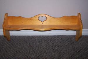 Cute Pine Shelf Only $15 call