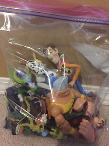 Disney: Toy Story action figures (Gently Used)