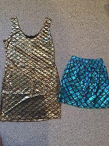 Dress & skirt - never worn size small
