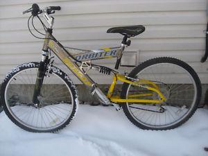 Dunlop Orbiter 24 speed dual suspension mountain bike