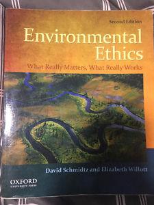 Environmental Ethics Textbook-PHIL