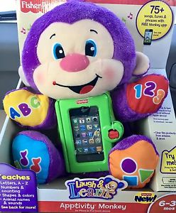 Fisher Price Laugh & Learn Apptivity Monkey iPhone case