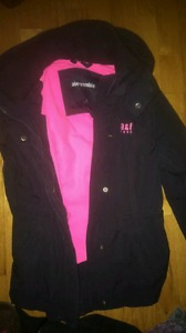 Girls Abercrombie & Fitch winter coat