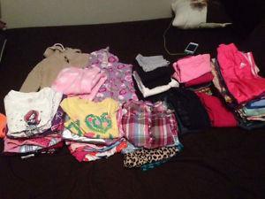 Girls size 5 clothing lot