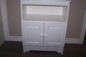 Like New condition, White Night-table Only $39 call 306