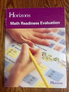 Math Readiness Evaluation *NEW