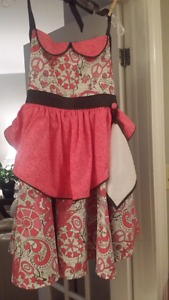 NEW Handmade apron with 50's style