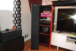 NUANCE 5 FOOT TOWERS + CENTER + FLOOR SUB