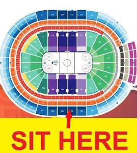 Oilers Round 2 Game 4 Section 202 Row 4 center ice